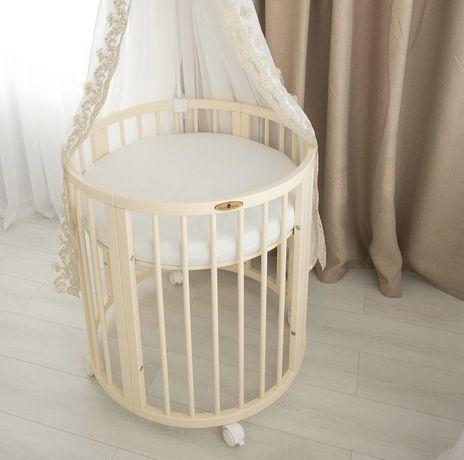 Овальная кроватка Royal Sleep 7 в 1