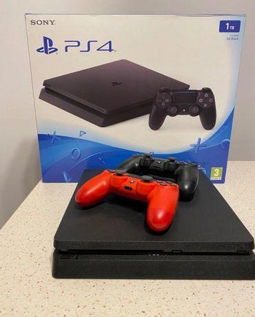 Playstation 4 1TB | 2 Pady | 2 Gry