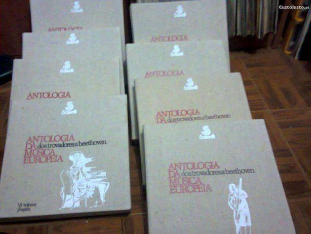 cerca de 120 discos vinil,Antologia da Música Clássica