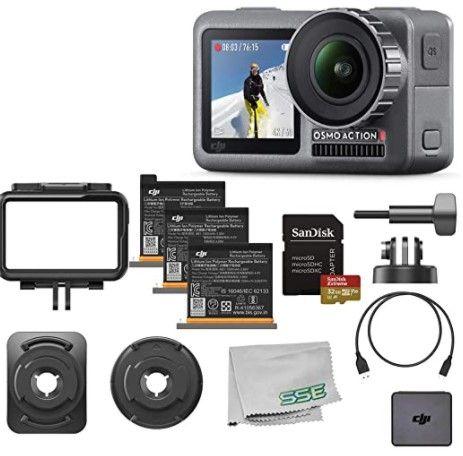 Nowa dji osmo action + charging kit + dji care refresh + uchwyt +128GB