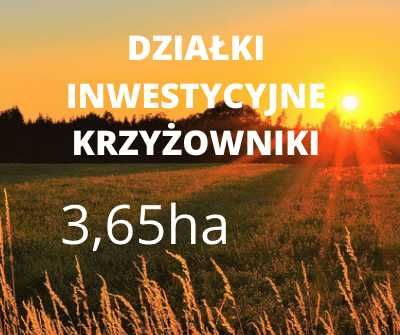 Działka Inwestycyjna Krzyżowniki Budowlana