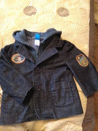 Пиджак, жакет для мальчика 9_12 мес, 80розм.