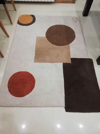 Carpetes em lã de algodão, 1.40X2.00mt