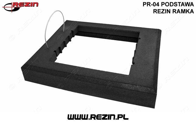 PR-04 podstawa REZIN ramka / gumowa podstawa pod znak drogowy POLSKA