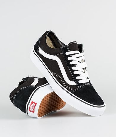 Buty Trampki VANS OLD SKOOL Black/White 36,37