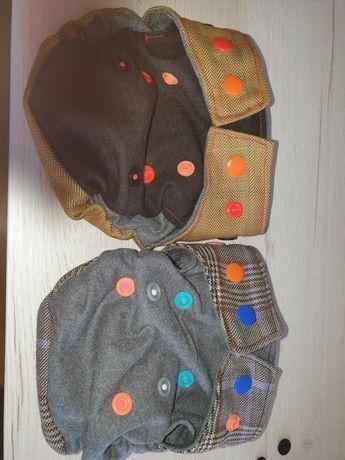 Otulacze wełniane nb handmade