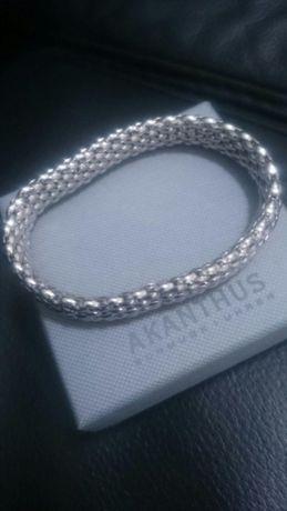 Srebrna biżuteria branzoletka Niemiecka
