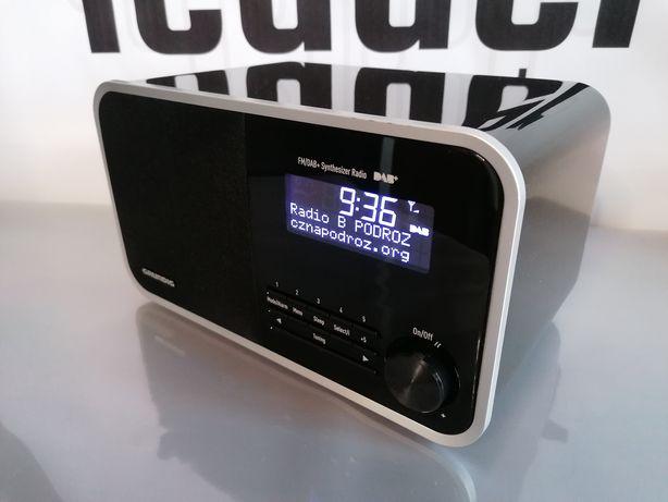 Grundig DTR BB 3000 DAB+ ekskluzywne radio cyfrowe z rds zegar budzik