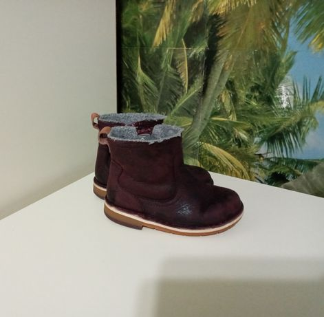 Сапоги/ботинки Clarks демисезон, р.22 (13,5 см) натур.кожа (Индия)