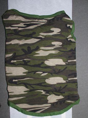 Camisola camuflada para cão.Tamanho L