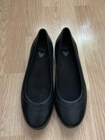 Туфли кожаные Crocs