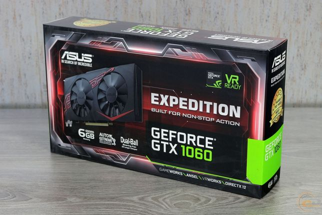 Asus GeForce GTX 1060 Expedition 6 gb