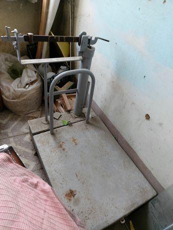 Ваги підлогові механічні весы напольные