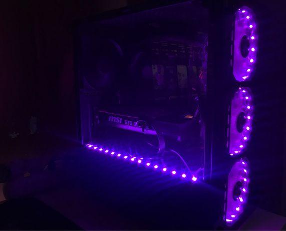Komputer do gier/ lekcji / RGB / ryzen 5 2600x / gtx 960 / 16gb / 650w