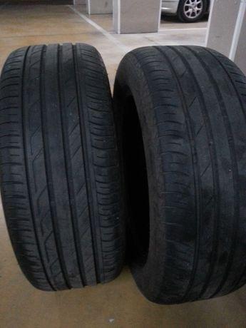 2 pneus 205/55 16 Bridgestone T001 usados