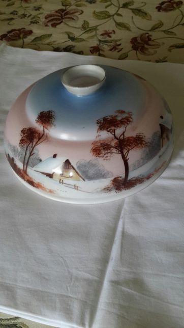 Candeeiro vidro vintage