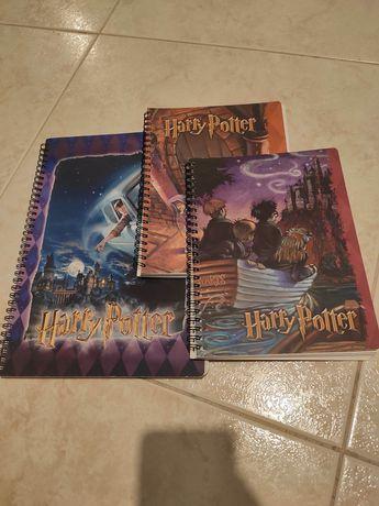 Cadernos Argolas Harry Potter Pautado Prisioneiro Câmara