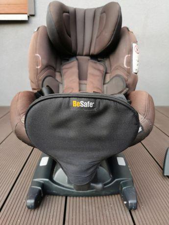 Fotelik BeSafe iZi Combi X, montaż tyłem lub przodem