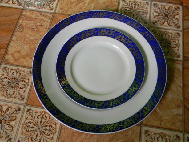 Porcelana Ćmielów 2 talerze 1934