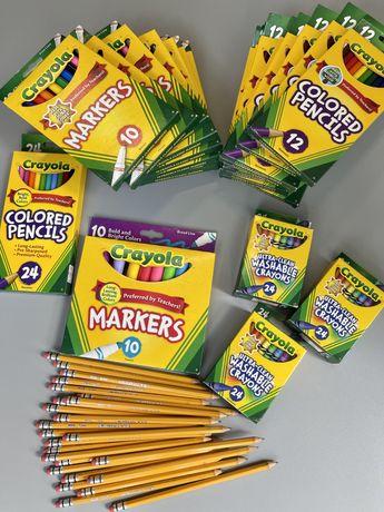 Карандаши и фломастеры Crayola