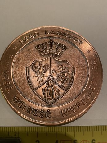 Medal 120 Lat Czynu Styczniowego Międzyrzecczyzny