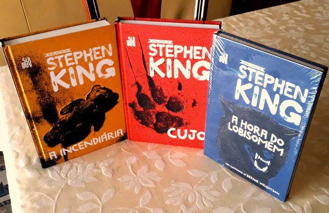 Stephen King - Incendiária/Cujo/Hora Lobisomen/Brasil NOVOS