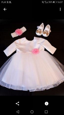 Sukienka do chrztu dla dziewczynki