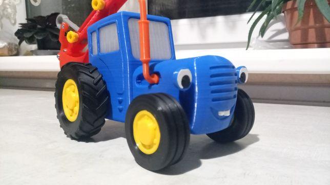 Синій трактор з мультика