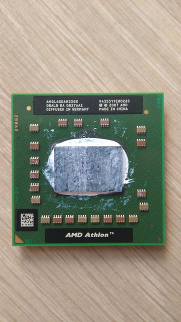 Процессор AMD Athlon 64 X2 QL-60 (1,9 ГГц)