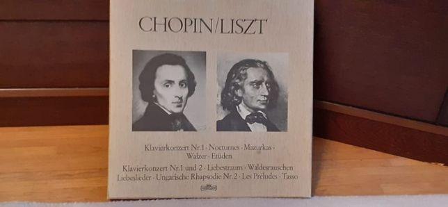 Chopin Liszt box 5 płyt Box płyty winylowe idealne