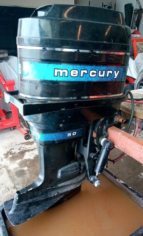 Silnik zaburtowy Mercury 50hp Merc 500 Thunderbolt Ignition.