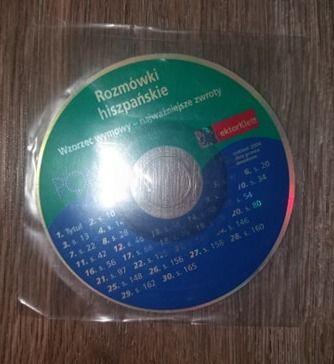 Płyta CD rozmówki hiszpańskie