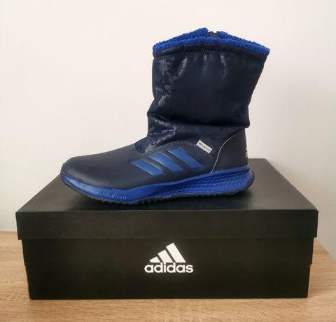 buty zimowe śniegowce Adidas RapidaSnow K S81125 r. 38