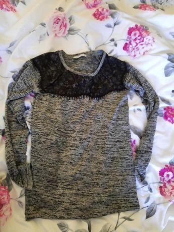 Cienki sweterek bluzeczka YUPS, nieuzywany! xs/s