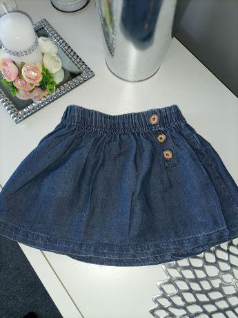 Spódniczka a'la jeans z kolekcji Petit Lou Pinokio, rozmiar 68