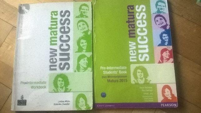 new matura success książka i ćwiczenia, angielski pre-intermediate