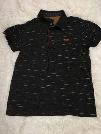 tshirt polo HUGO BOSS czarna m 158 164 czarna
