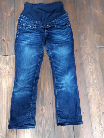 Cìążowe: spodnie, krótkie spodenki i bluzką. Rozmiar 38-40