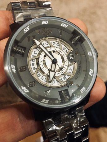 Мужские новые часы швейцарские GEVRIL Motorcycle Sport Automatic