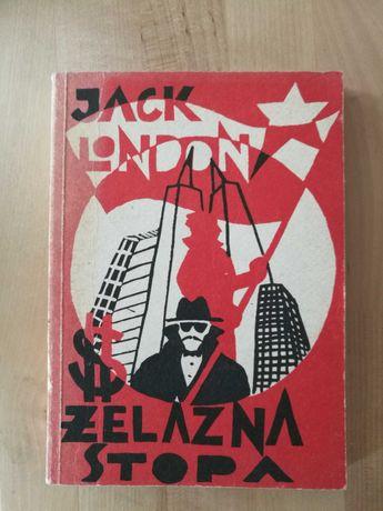 Jack London Żelazna stopa