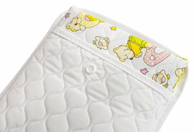 Клеенка непромокайка подкладная в детскую кроватку, коляску-BABY LOOVI