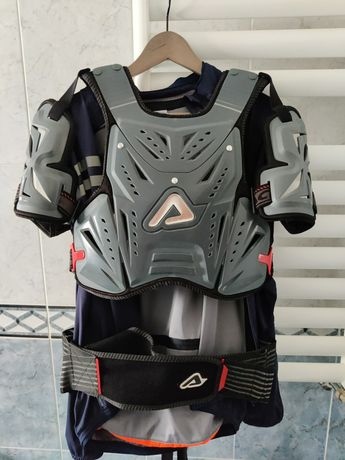 Proteção integral acerbis e Luvas moto