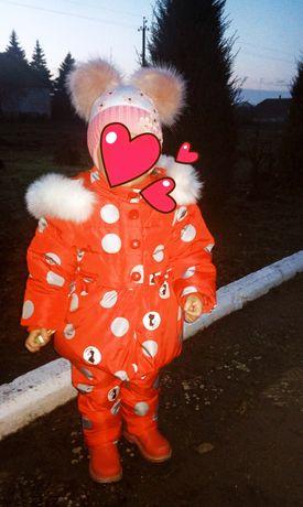 Зимняя одежда на девочку