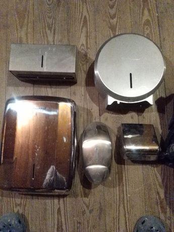 Pojemniki na papier przemysłowe gastronomia HACCAP nierdzewne solidne