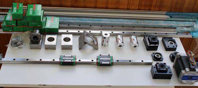 Guias lineares Hiwin, PMI, veios Impressora 3D, Ballscrew