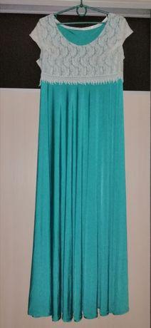 Вечернее/выпускное/нарядное/шикарное/длинное платье/сукня/56-58 размер