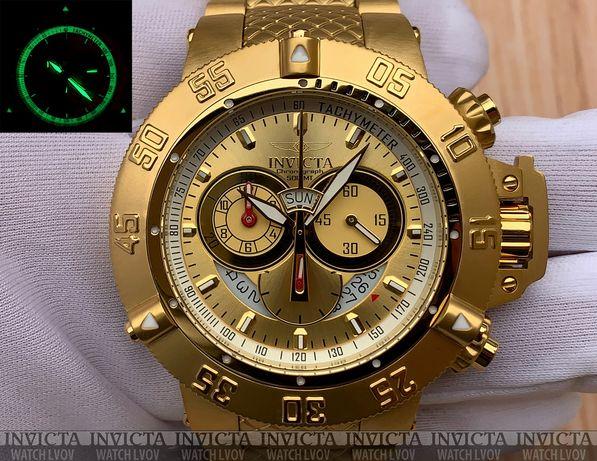 Швейцарские часы Invicta 5403 Subaqua Noma III Gold Swiss Chronograph