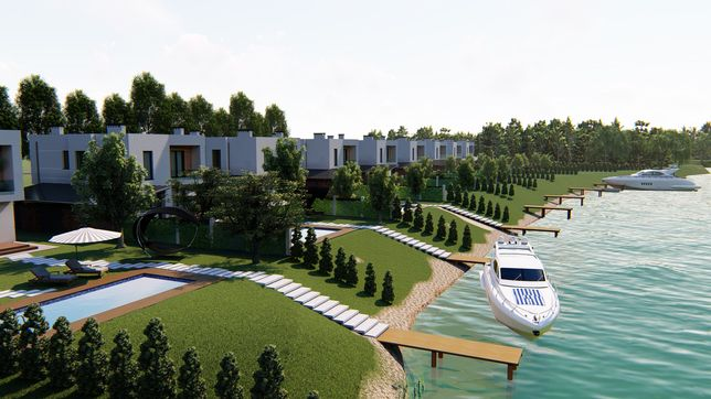 Готові будинки 1 лінія до води,Лівий берег,Десна,Зазимя,Власник.