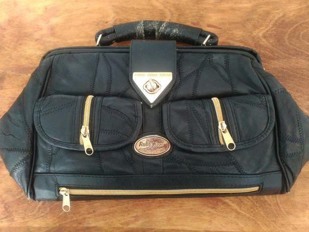 Шкіряна жіноча сумка