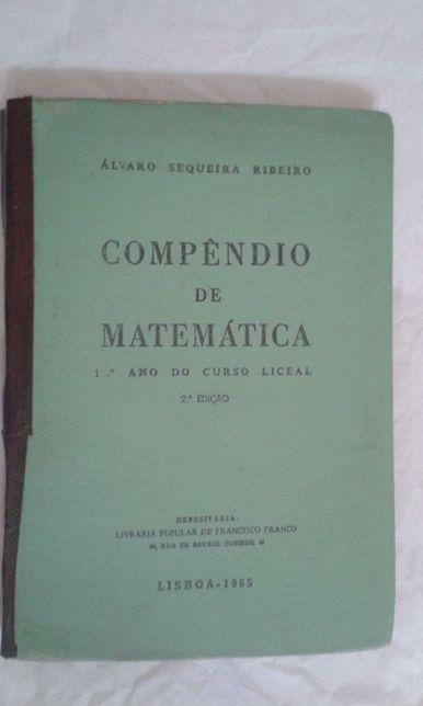Compêndio de Matemática - 1º ano do Curso Liceal